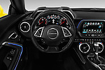 Car pictures of steering wheel view of a 2016 Chevrolet CAMARO 2LT 2 Door coupe Steering Wheel