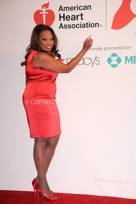 WWW.ACEPIXS.COM . . . . . .February 03, 2012...New York City.... Star Jones attend AHA's Go Red For Women National Wear Red Day at Macy's Herald Square on February 03, 2012 in New York City ....Please byline: KRISTIN CALLAHAN - ACEPIXS.COM.. . . . . . ..Ace Pictures, Inc: ..tel: (212) 243 8787 or (646) 769 0430..e-mail: info@acepixs.com..web: http://www.acepixs.com .