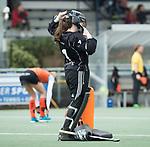 Den Haag - Hoofdklasse hockey dames, HDM-GRONINGEN  (6-2).  keeper Jantien Gunter (Gron.)  COPYRIGHT KOEN SUYK