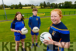 The Collins family looking forward to the reopening of the Ballymac GAA field.<br /> Front right: Anna Collins.<br /> Back l to r: Kate and Niall Collins.