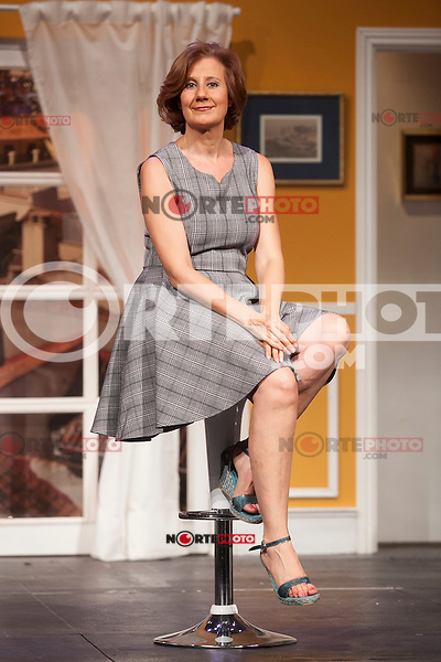 Actress Esperanza Elipein poses for `El Clan de las Divorciadas´ theater play presentation in Madrid, Spain. August 19, 2015. (ALTERPHOTOS/Victor Blanco)