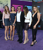 19 April 2017 - Hollywood, California - Sylvester Stallone, Jennifer Flavin, Sistine Rose Stallone, Sophia Rose Stallone, Scarlet Rose Stallone. Premiere Of Disney And Marvel's &quot;Guardians Of The Galaxy Vol. 2&quot; held at Dolby Theatre. <br /> CAP/ADM/PMA<br /> &copy;PMA/ADM/Capital Pictures