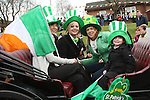 Scholars Townhouse Carriage at the 2010 St Patrick's Day Parade...Photo NEWSFILE/Jenny Matthews.(Photo credit should read Jenny Matthews/NEWSFILE)....This Picture has been sent you under the condtions enclosed by:.Newsfile Ltd..The Studio,.Millmount Abbey,.Drogheda,.Co Meath..Ireland..Tel: +353(0)41-9871240.Fax: +353(0)41-9871260.GSM: +353(0)86-2500958.email: pictures@newsfile.ie.www.newsfile.ie.FTP: 193.120.102.198.