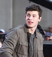 NEW YORK, NY-July 08: Shawn Mendes perform on NBC's Today Show Citi Concert Series at Rockefeller Center in New York. NY July 08, 2016. Credit:RW/MediaPunch