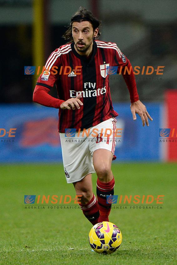 Cristian Zaccardo Milan<br /> Milano 01-02-2015 Stadio Giuseppe Meazza - Football Calcio Serie A Milan - Parma. Foto Giuseppe Celeste / Insidefoto
