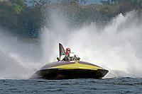 """Bill Black, U-55 """"Gale V"""" (replica of the 1955 Gold Cup winner)"""