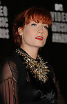 LOS ANGELES, CA. - September 12: Singer Florence Welch of Florence + The Machine poses in the press room at the 2010 MTV Video Music Awards held at Nokia Theatre L.A. Live on September 12, 2010 in Los Angeles, California.