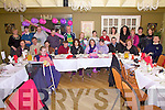 Elizabeth Lynch from Valentia(seated 5th from the right) celebrated her 21st birthday with family and friends at the Ring of Kerry Hotel on Friday last.