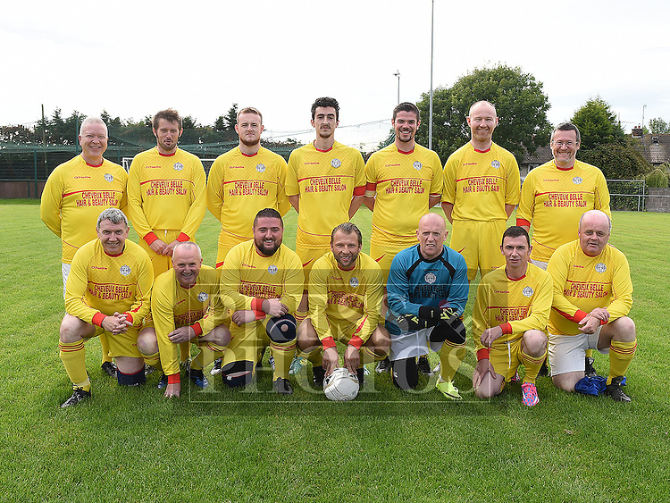 The Peaches team who played against the Laurence Centre in the Alzheimers Cup at Marion Park. Photo:Colin Bell/pressphotos.ie