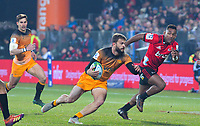 Jaguares' Ramiro Moyano in action during the 2019 Super Rugby final between the Crusaders and Jaguares at Orangetheory Stadium in Christchurch, New Zealand on Saturday, 6 July 2019. Photo: Dave Lintott / lintottphoto.co.nz