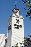 Farmers Market Clock Tower Los Angeles, CA