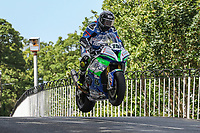 Daley Mathison competing in the 2019 Isle of Man TT Races