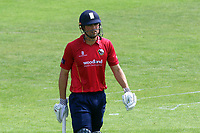 Alstair Cook of Essex leaves the field having been dismissed for 54 during Kent Spitfires vs Essex Eagles, Royal London One-Day Cup Cricket at the St Lawrence Ground on 17th May 2017