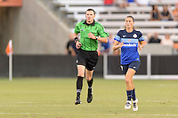 Houston, TX - Sunday June 19, 2016: Matthew Franz during a regular season National Women's Soccer League (NWSL) match between the Houston Dash and FC Kansas City at BBVA Compass Stadium.