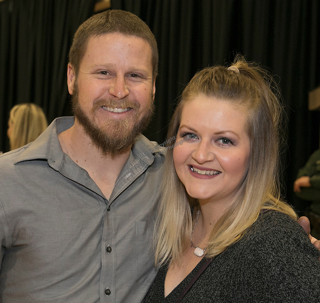 Jeremy and Annie during the Jack T. Reviglio Cioppino Feed & Auction at the Donald W. Reynolds Facility in Reno on Saturday, February 25, 2017.
