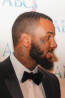 BEVERLY HILLS, CA, USA - NOVEMBER 22: The Game arrives at the Associates For Breast And Prostate Cancer Studios 25th Annual Talk Of The Town Black Tie Gala held at The Beverly Hilton Hotel on November 22, 2014 in Beverly Hills, California, United States. (Photo by Rudy Torres/Celebrity Monitor)