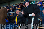Robert Barry and Timmy Dillon Celebrate after the final whistle as St Senans defeated Ballydonoghue in the final on Sunday