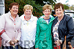 Margaret Coakley (Scartaglin), Betty O'Rourke (Castleisland) with Doreen O'Connor and Eileen Boyle (Scartaglin) pictured at Ballyheigue Pattern Day on Saturday last.