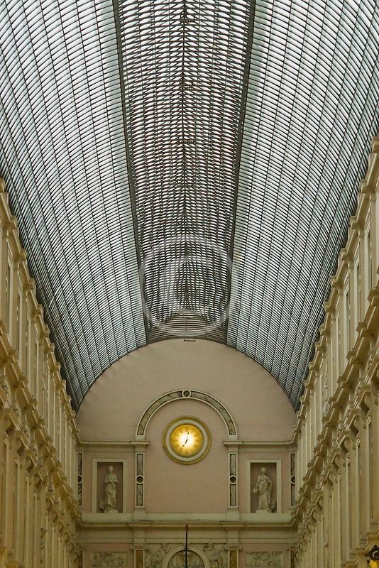Belgium, Brussels, Galeries St. Hubert,  St. Hubertus Galerijen