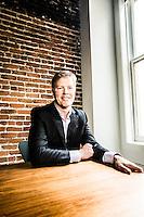 Dan Morehead, CEO of Pantera Capital pictures: executive portrait photography of Dan Morehead, CEO of Pantera Capital Management in San Francisco, by San Francisco corporate photographer Eric Millette