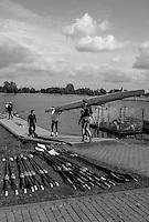 Brandenburg. GERMANY. GBR M4- Boating at the <br /> 2016 European Rowing Championships at the Regattastrecke Beetzsee<br /> <br /> Wednesday  04/05/2016<br /> <br /> [Mandatory Credit; Peter SPURRIER/Intersport-images]