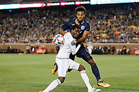 Minneapolis, MN - Saturday, October 7, 2017: Minnesota United FC played Sporting Kansas City in a Major League Soccer (MLS) game at TCF Bank stadium.  Final score Minnesota United FC 1, Sporting Kansas City 1