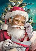 CHRISTMAS SANTA, SNOWMAN, WEIHNACHTSMÄNNER, SCHNEEMÄNNER, PAPÁ NOEL, MUÑECOS DE NIEVE, paintings+++++,KL5960V,#x#