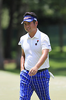 Yuta Ikeda (JPN) on the 13th green during Thursday's Round 1 of the 2017 PGA Championship held at Quail Hollow Golf Club, Charlotte, North Carolina, USA. 10th August 2017.<br /> Picture: Eoin Clarke | Golffile<br /> <br /> <br /> All photos usage must carry mandatory copyright credit (&copy; Golffile | Eoin Clarke)
