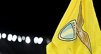 Lazio logo on the corner flag <br /> Roma 7-11-2019 Stadio Olimpico <br /> Football Europa League 2019/2020 <br /> SS Lazio - Celtic <br /> Photo Andrea Staccioli / Insidefoto