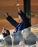 10.02.2018, Wirsol Rhein-Neckar-Arena, Sinsheim, GER, 1.FBL, TSG 1899 Hoffenheim vs FSV Mainz 05, im Bild<br />Dietmar Hopp freut sich &uuml;ber den Sieg<br /> Foto &copy; nordphoto / Bratic
