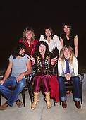 1978: HEART - photographed on tour in the USA