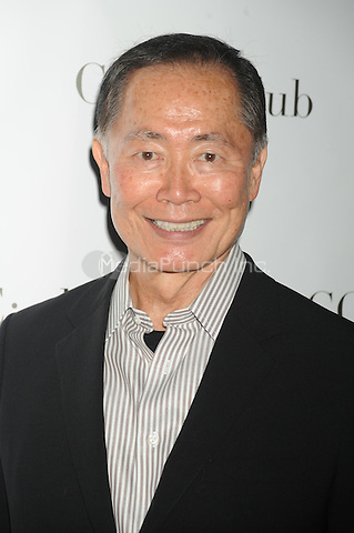 George Takei at the 'Celebrity Apprentice' Panel Discussion at The Core Club on May 22, 2012 in New York City.. Credit: Dennis Van Tine/MediaPunch