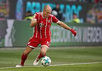 17.02.2018, Football 1. Bundesliga 2017/2018, 23.  match day, VfL Wolfsburg - FC Bayern Muenchen, in Volkswagen Arena Wolfsburg. Arjen Robben (Bayern Muenchen)  *** Local Caption *** © pixathlon<br /> <br /> Contact: +49-40-22 63 02 60 , info@pixathlon.de
