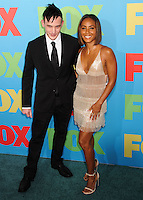 NEW YORK CITY, NY, USA - MAY 12: Robin Lord Taylor, Jada Pinkett Smith at the FOX 2014 Programming Presentation held at the FOX Fanfront on May 12, 2014 in New York City, New York, United States. (Photo by Celebrity Monitor)