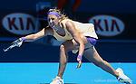 Victoria Azarenka (BLR) wins at Australian Open in Melbourne Australia on 19th January 2013