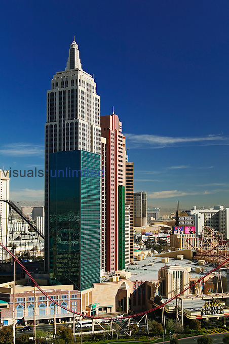 New York New York Hotel, Las Vegas, Nevada.