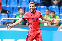 Real Sociedad's Asier Illarramendi celebrates goal during La Liga match. September 10,2017.  *** Local Caption *** © pixathlon<br /> Contact: +49-40-22 63 02 60 , info@pixathlon.de