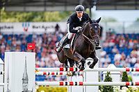 BEL-Jerome Guery rides Kel'Star du Vingt Ponts during the Allianz-Prize Jumping. Final-7th. 2019 GER-CHIO Aachen Weltfest des Pferdesports. Saturday 20 July. Copyright Photo: Libby Law Photography