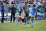 The Maryland Terrapins defeated the North Carolina Tar Heels 1-0 to win the 2008 NCAA Men's Soccer College Cup at Pizza Hut Park December 14, 2008 in Frisco, Texas. (Photo by Brian Westerholt / Sports On Film)