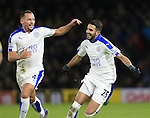 Leicester City's Riyad Mahrez celebrates scoring his sides opening goal <br /> <br /> - English Premier League - Watford vs Leicester City  - Vicarage Road - London - England - 5th March 2016 - Pic David Klein/Sportimage
