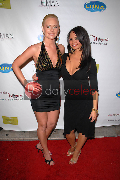 """Katie Lohmann and Berna Roberts<br /> at the 6th Annual Los Angeles Women's Int'l Film Festival Opening Night Benefit Screening of """"Serious Moonlight,"""" The Libertine, West Hollywood, CA. 03-26-10<br /> David Edwards/DailyCeleb.com 818-249-4998"""