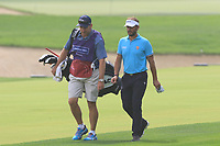 Joost Luiten (NED) on the 1st fairway during Round 1 of the Omega Dubai Desert Classic, Emirates Golf Club, Dubai,  United Arab Emirates. 24/01/2019<br /> Picture: Golffile | Thos Caffrey<br /> <br /> <br /> All photo usage must carry mandatory copyright credit (&copy; Golffile | Thos Caffrey)