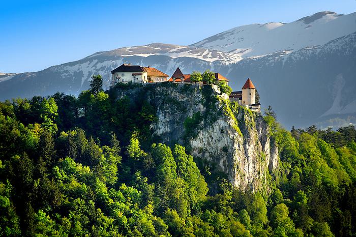 Bled Castle. Bled Slovenia.