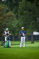 Si Woo Kim (KOR) looks over his second shot on 7 during Rd3 of the 2019 BMW Championship, Medinah Golf Club, Chicago, Illinois, USA. 8/17/2019.<br /> Picture Ken Murray / Golffile.ie<br /> <br /> All photo usage must carry mandatory copyright credit (© Golffile   Ken Murray)