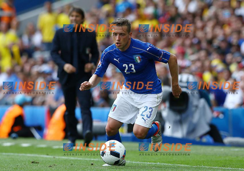 Emanuele Giaccherini Italy<br /> Toulouse 17-06-2016 Stade Velodrome Footballl Euro2016 Italy - Sweden  / Italia - Svezia Group Stage Group E. Foto Matteo Ciambelli / Insidefoto