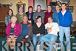 CONNOLY PARK: Organizers of the Connolly Park Seniors Christmas Party at the Austin Stacks clubhouse on Saturday seated l-r: Noreen Sheehy, Chris Walsh, Tracey Nelligan and Terry Thomson. Back l-r: Aileen Miller, Mike Carmody, Ann Quinn, Declan Carmody, Terry Healy, Michael Healy and Fichara Breen.