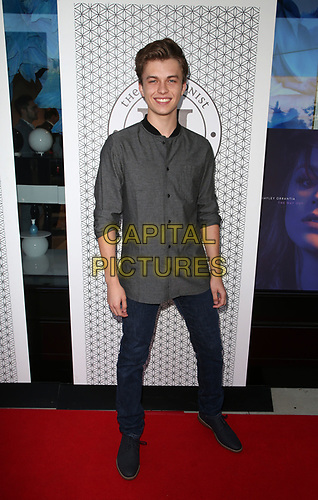 "28 May 2019 - Los Angeles, California - Jacob Hopkins. Hayley Orrantia Celebrates New EP ""The Way Out"" held at The Harmonist.   <br /> CAP/ADM/FS<br /> ©FS/ADM/Capital Pictures"