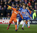 09.02.2019 Kilmarnock v Rangers: Jermain Defoe and Scott Boyd