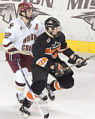 Chris Collins, Mike Moore - Boston College defeated Princeton University 5-1 on Saturday, December 31, 2005 at Magness Arena in Denver, Colorado to win the Denver Cup.  It was the first meeting between the two teams since the Hockey East conference began play.
