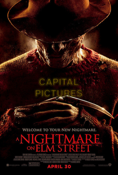 ONE SHEET POSTER ART.in A Nightmare on Elm Street (2010).St..*Filmstill - Editorial Use Only*.CAP/FB.Supplied by Capital Pictures.
